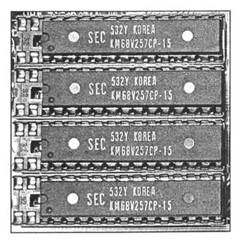 Маркировка микросхем SRAM